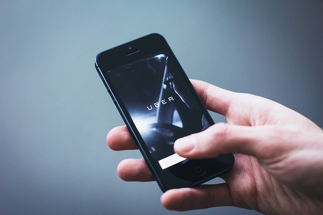 Established ride-sharing apps compete with Uber