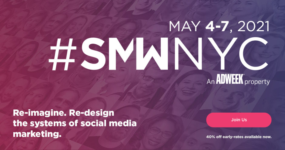 Social Media Week 2021 New York SMWNYC
