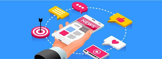Link to Social Media & News Feed
