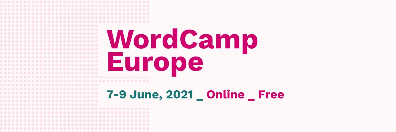 WordCamp Europe Online 2021